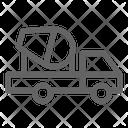 Truck Concrete Cement Icon