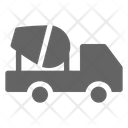 Truck Concrete Cement Icon