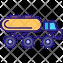 Truck Cargo Construction Icon