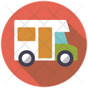 Truck Traveller Small Bus Icon