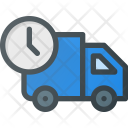 Truck Fast Time Icon