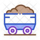 Truck Heavy Material Icon