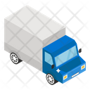 Pickup Truck Dumper Tipper Truck Icon