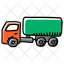 Truck Oil Tanker Gas Tank Icon