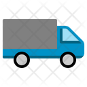Truck Transport Transportation Vehicle Lorry Shipping Delivery Icon