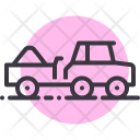 Truck Load Farm Icon