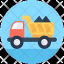 Truck Dump Transport Icon