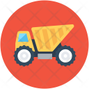 Truck Construction Transport Icon