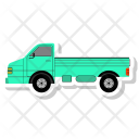 Truck Public School Icon
