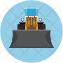 Truck Front Loader Icon