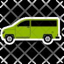 Van Bus Camper Icon