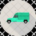 Cargo Van Logistics Icon