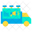 Truck Ads Truck Advertising Icon