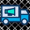 Truck Ads Icon