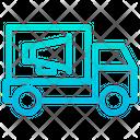 Truck Advertisement Icon