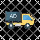 Ads Truck Advertisement Icon