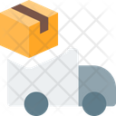 Truck Box Truck Delivery Truck Icon