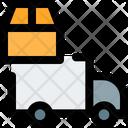 Truck Carton Box Truck Box Truck Icon