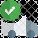 Truck Checklist Delivery Check Delivery Invoice Icon