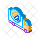 Cleaning Truck Service Icon