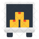 Truck Loading Cargo Loading Container Loading Icon