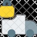 Truck Lock Icon