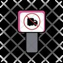 Truck Prohibition Board Icon