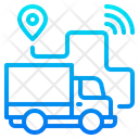 Truck Route Delivery Route Car Icon