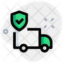 Truck Shield Delivery Shield Delivery Protection Icon