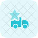 Truck Star Delivery Rating Delivery Icon