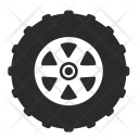 Truck Car Tire Icon