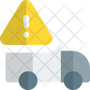 Truck Warning Delivery Warning Delivery Error Icon