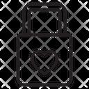 Key Lock Love Love Lock Lock Icon