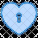 Key Favorite Love Love Lock Lock Icon