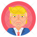 Avatar Male President Icon