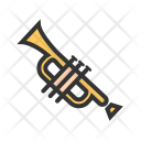 Musical Toy Trumpet Icon