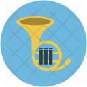 Trumpet Music Instruments Icon