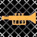 Trumpet Music Instrument Icon