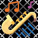 Trumpet Jazz Orchestra Icon