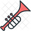 Trumpet Instrument Music Icon