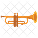 Trumpet Music Orchestra Icon
