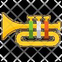 I Trumpet Trumpet Instrument Icon