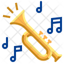 Trumpet Jazz Instrument Icon