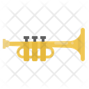 Trumpet Music Instrument Icon