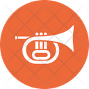 Brass Marching Band Music Instrument Icon
