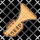 Trumpet Multimedia Musical Icon