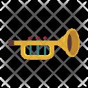 Trumpet Wind Instrument Icon