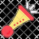 Trumpet New Year Celebration Icon