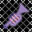 Trumpet Maracas Instrument Icon