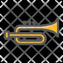 Trumpet Melody Jazz Icon
